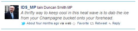 Fake Iain Duncan Smith Twitter