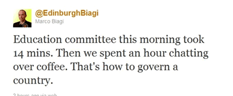 Marco Biagi SNP Twitter fail
