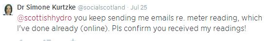 Scottish Hydro Tweet