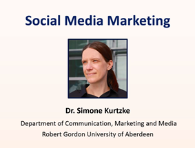 social media marketing lecture