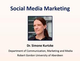 social media marketing lecture